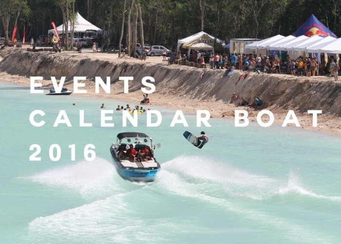 Calendar Events Wakeboard Boat 2016