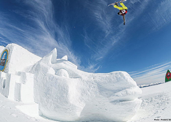 Snowboard : 2016 Poney session