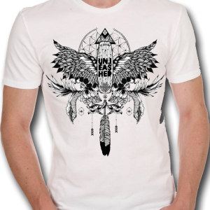 unleashed tshirt Cheyenne White