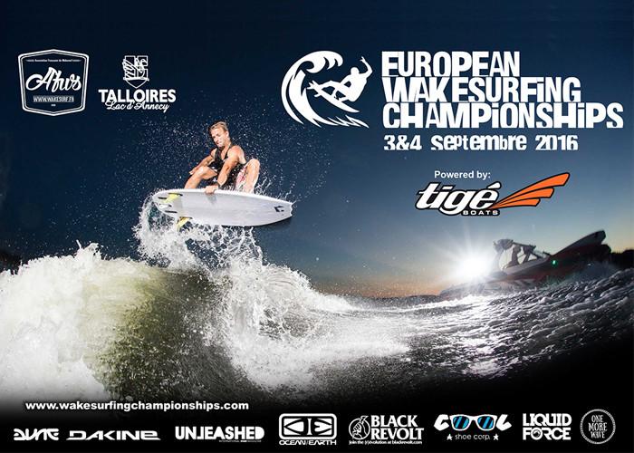 European wakesurfing
