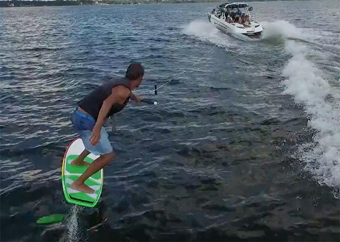 slingshot wakefoiler