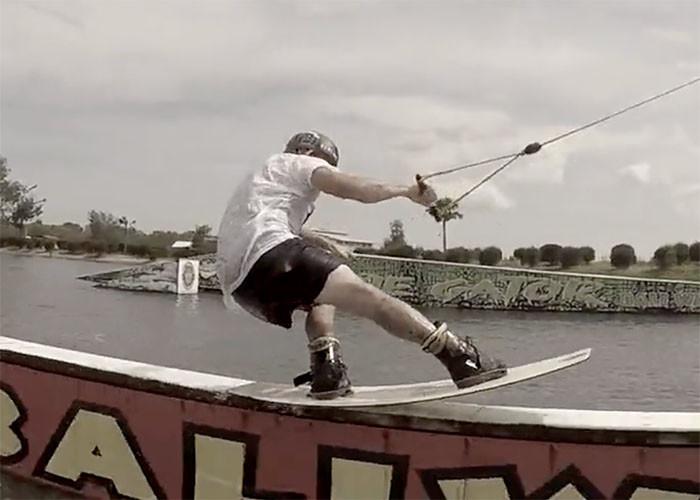 Dirk Van Esser DUP wakeboard