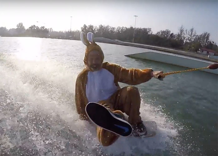 Lars Yoopee Schmidt at IWP International Wakepark