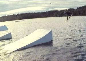 Miko Ratavaara at Ukkohalla Cable Park