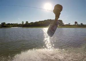 Derek Huntoon & Charlie VanDemark at Action Wake Park