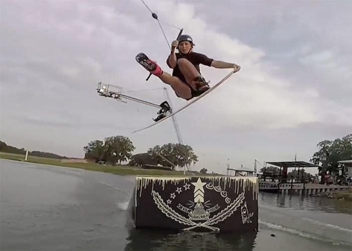 Malin Overby at Valdosta Wake Compound