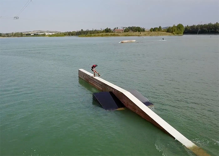 Enzo Asseraf La Source Wake Park