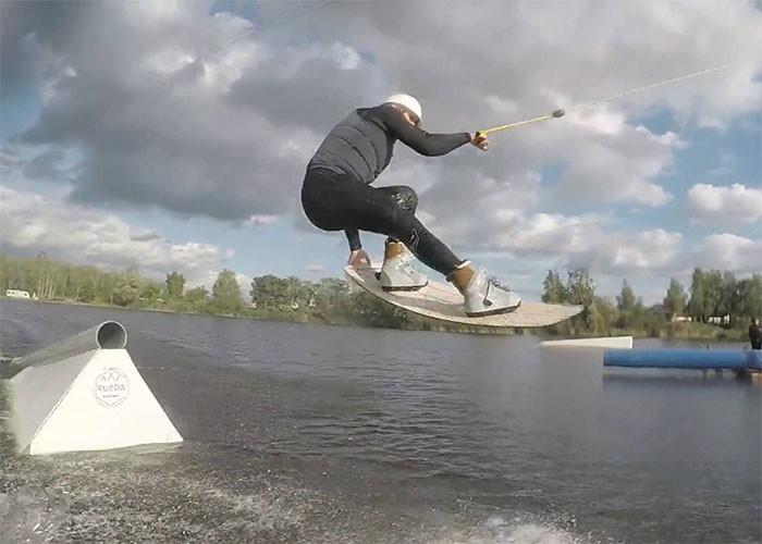 Jacek Czapelka cable shred 17