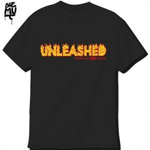 Unleashed-tshirt-Flaming-Black-540X540
