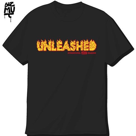 Unleashed-tshirt-Flaming-Black-540X540