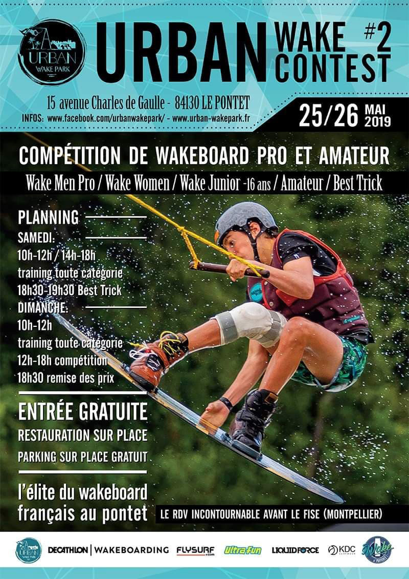 affiche urban wake contest 2